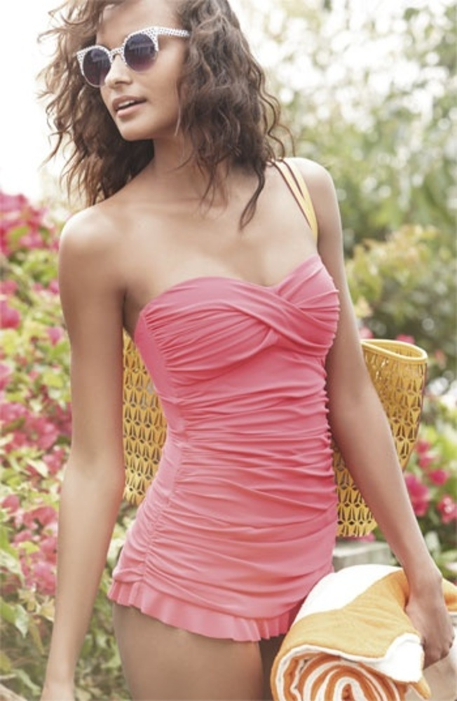 Coral-Ruffled-One-Piece-Bathing-Suit