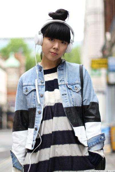 Jean-Jacket-Striped